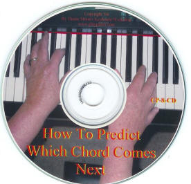 How to predict which course comes next in a song CD