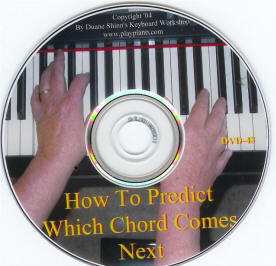 How to predict which chord comes next DVD course